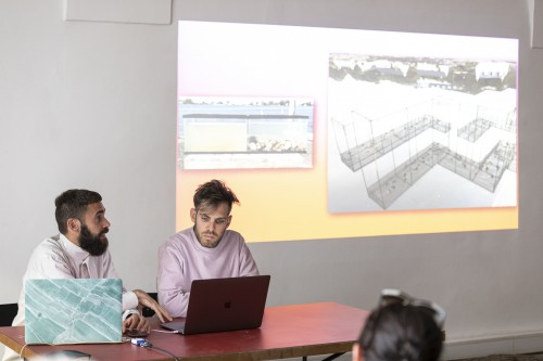 Cooking Sections, Artist Talk at Unibz 14.05.2019. Foto: Luca Guadagnini