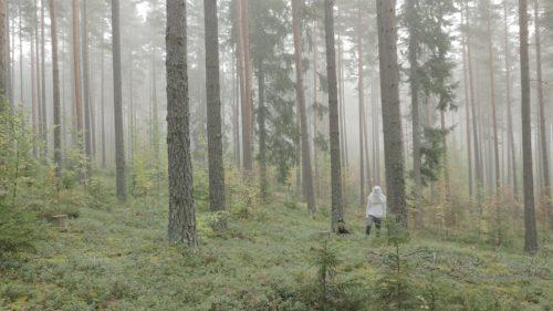 Linda Jasmin Mayer, Dove fermarsi?, video still, 1/3 + 1 AP Photodruck auf Hahnemuehle, 22,3 cm x 37,6cm, Holzrahmung (Ramin)