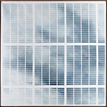 Mirijam Heiler, 17.10.18 _ 15.45.30, Öl auf Leinwand, 80 x 70 cm, Eichenrahmung 2018