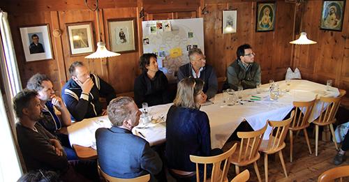 BAU Residency 2017. INLAND, ALMA. Workshop. Foto: Stefano Lisci