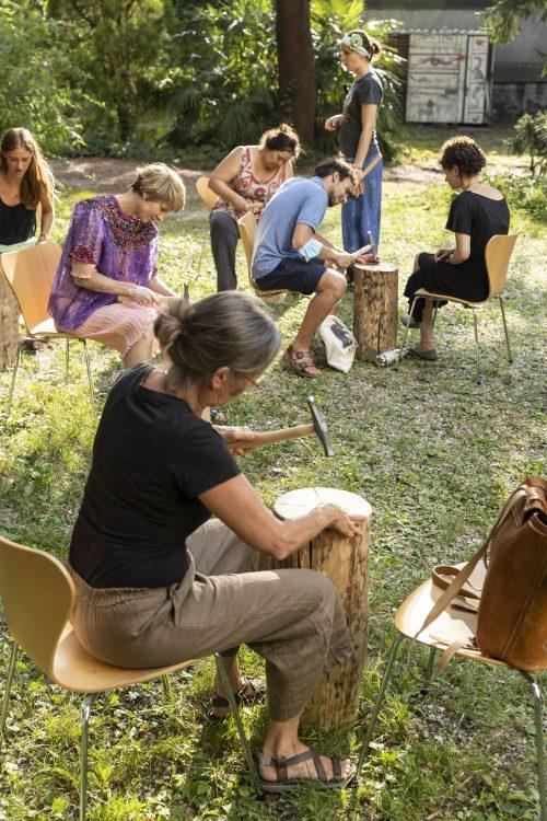 Savoir-Vivre Workshop kuratiert von BAU ©ar/ge kunst, Foto Tiberio Sorvillo, 2021